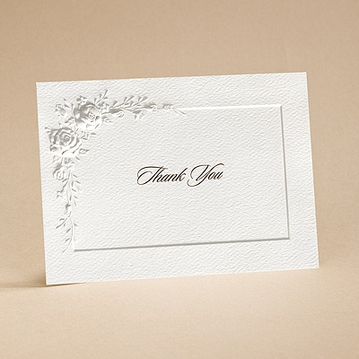 Roses for Love - Thank You Card with Verse and Envelope