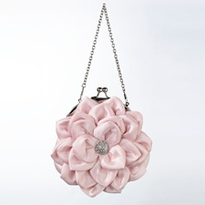 Pretty Pink Flower Purse
