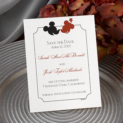 Oh, Boy! - Save the Date Card