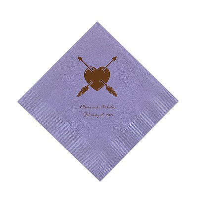 Periwinkle Cocktail Napkin