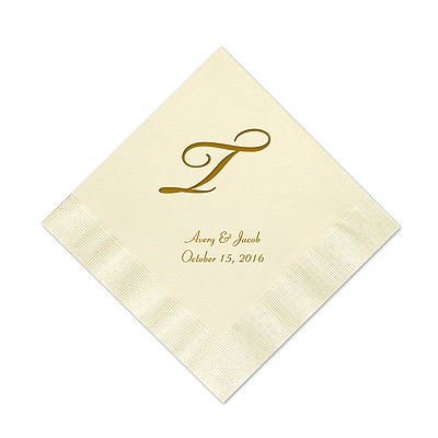 Ecru Cocktail Napkin