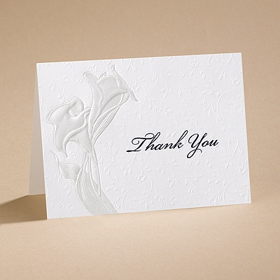 Magnifique - Thank You Card with Verse and Envelope