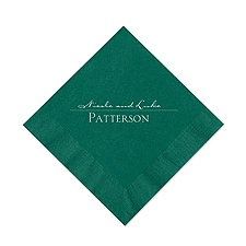 Hunter Cocktail Napkin