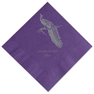 Purple Dinner Napkin
