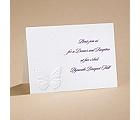 Butterfly Kisses - Reception Card