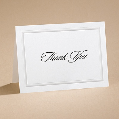 Sash - Thank You Card and Envelope