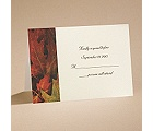 Autumn Splendor - Respond Card and Envelope