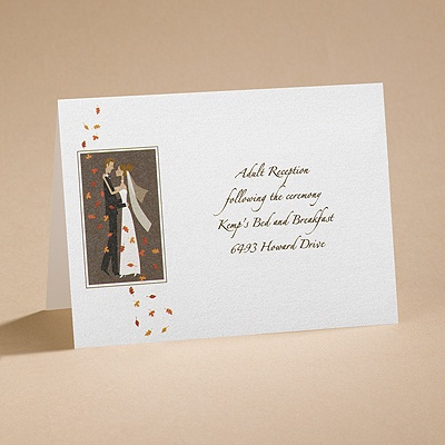 Autumn Breeze - Reception Card
