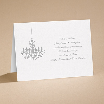 Dramatic Lighting - Reception Card