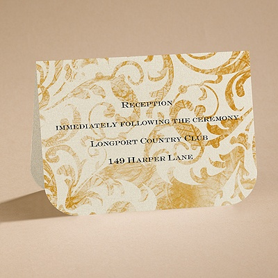 Everlasting Beauty - Reception Card