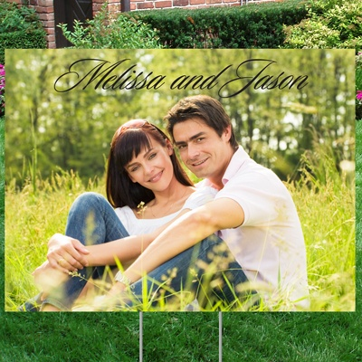 Picture Perfect Yard Sign - Medium