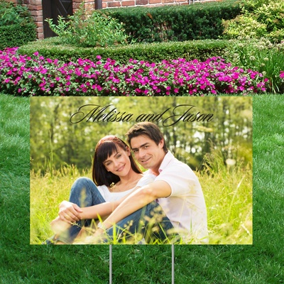 Picture Perfect Yard Sign - Small