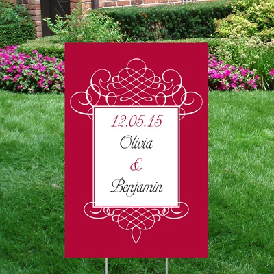 Flourish Yard Sign - Small