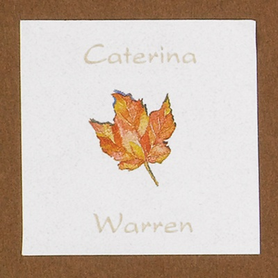 Personalized Leaf Seal