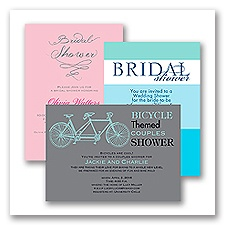 Bridal Shower Invitation - Design it Yourself