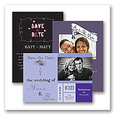 Save the Date Card - Design it Yourself