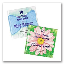 Ring Bearer or Flower Girl Gift Book