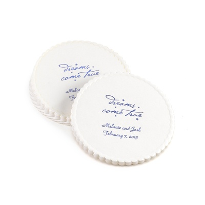 Personalized Round Coasters