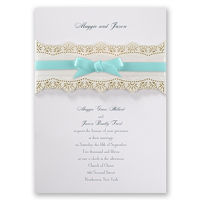 Eyelet Band - Invitation