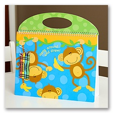 Monkey Kids Artist Pad