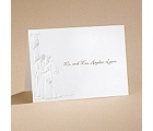 At Last - Pearl  - Note Card And Envelope
