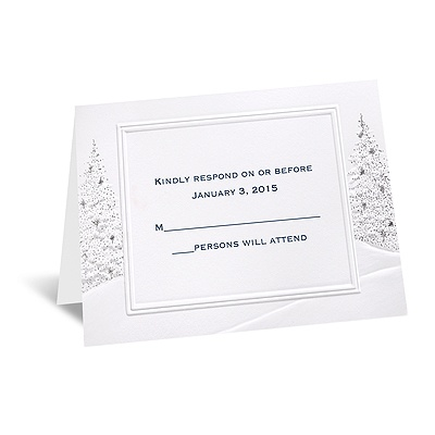 Wedding Wonderland - Respond Card and Envelope