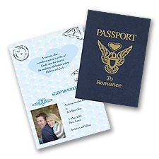 Passport - Save the Date Card