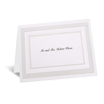 Satin Touch - Note Card and Envelope