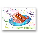 Slice of Cake Postcard