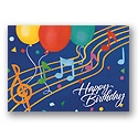 Tune In Birthday Postcard