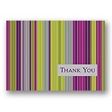Contemporary Stripes Postcard