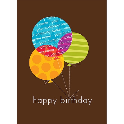 Lasting Ties Birthday Card