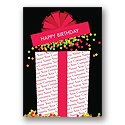 Confetti Surprise Birthday Card