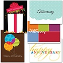 Festive Employee Anniversary Assortment - 100 Cards