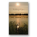 Peace and Serenity Thinking of You Card