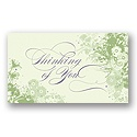 Flowers and Foliage Thinking of You Card