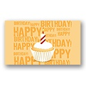 Birthday Cupcake Card