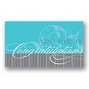 Faint Flourish Congratulations Card