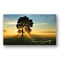 Ray of Light Sympathy Card