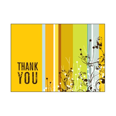 Recycled Growing Appreciation Card
