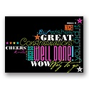 Many Cheers Congratulations Card