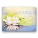Soft Reflections Sympathy Card