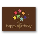 Star Power Birthday Card