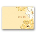 Fancy Floral Get Well Card