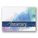 Watercolor Anniversary Card