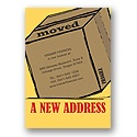 New Address Party Invitation