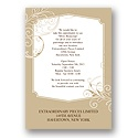 Elegant Details in Gold Party Invitation