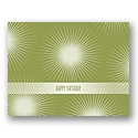 Value Birthday Card - Kiwi Starburst