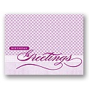 Value Birthday Card - Purple Greetings