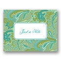 Sea of Flourishes Personalized Note Card